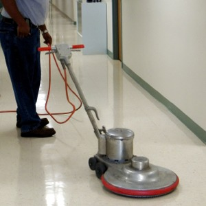 commercial floor cleaning tile surface